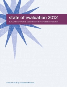 Innovation Network Inc. explores nonprofit evaluation with 2012 report
